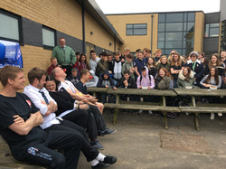 Nailsea School red nose day 2017
