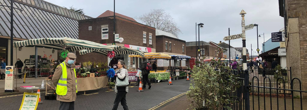 November farmers' market