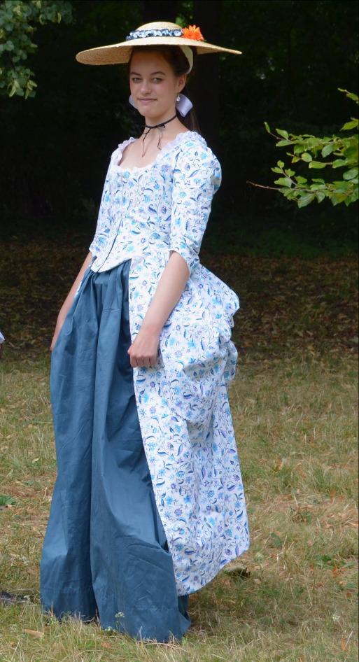 Junge Dame um 1780