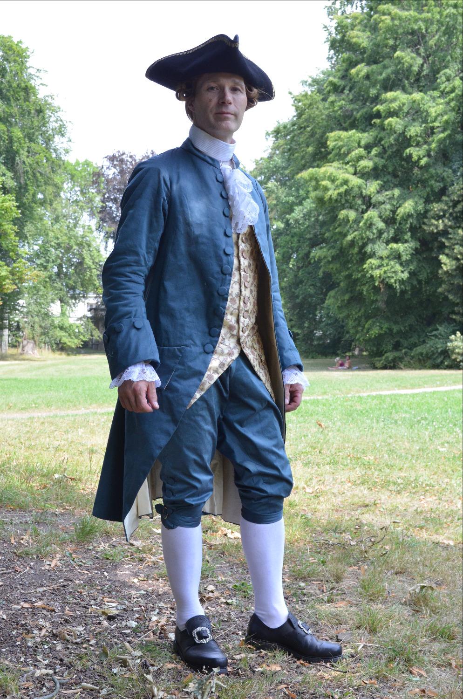Adeliger Herr um 1780