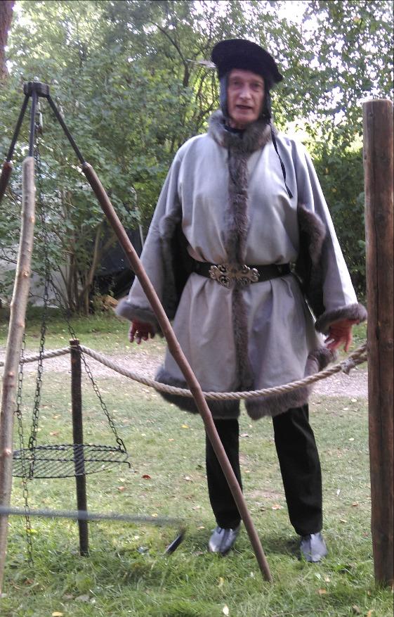 Spätmittelalterliches Gardecorps