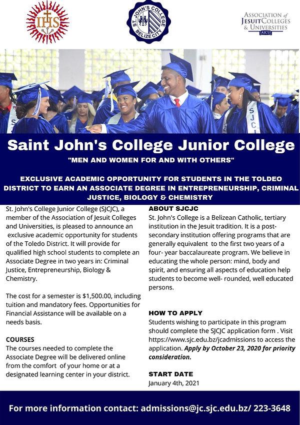 Saint John's College Junior College Tole