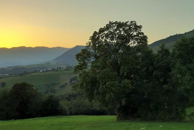 vista da residenza bartolomeo della scala - tramonto - erbezzo.jpg
