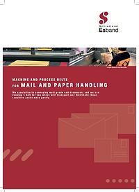 ESBAND 郵政機械平面帶應用簡介