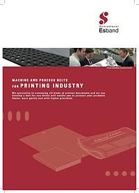 ESBAND 印刷機械平面帶應用簡介
