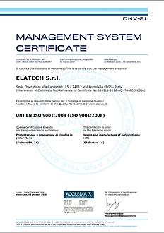 義大利 ELATECH ISO9001