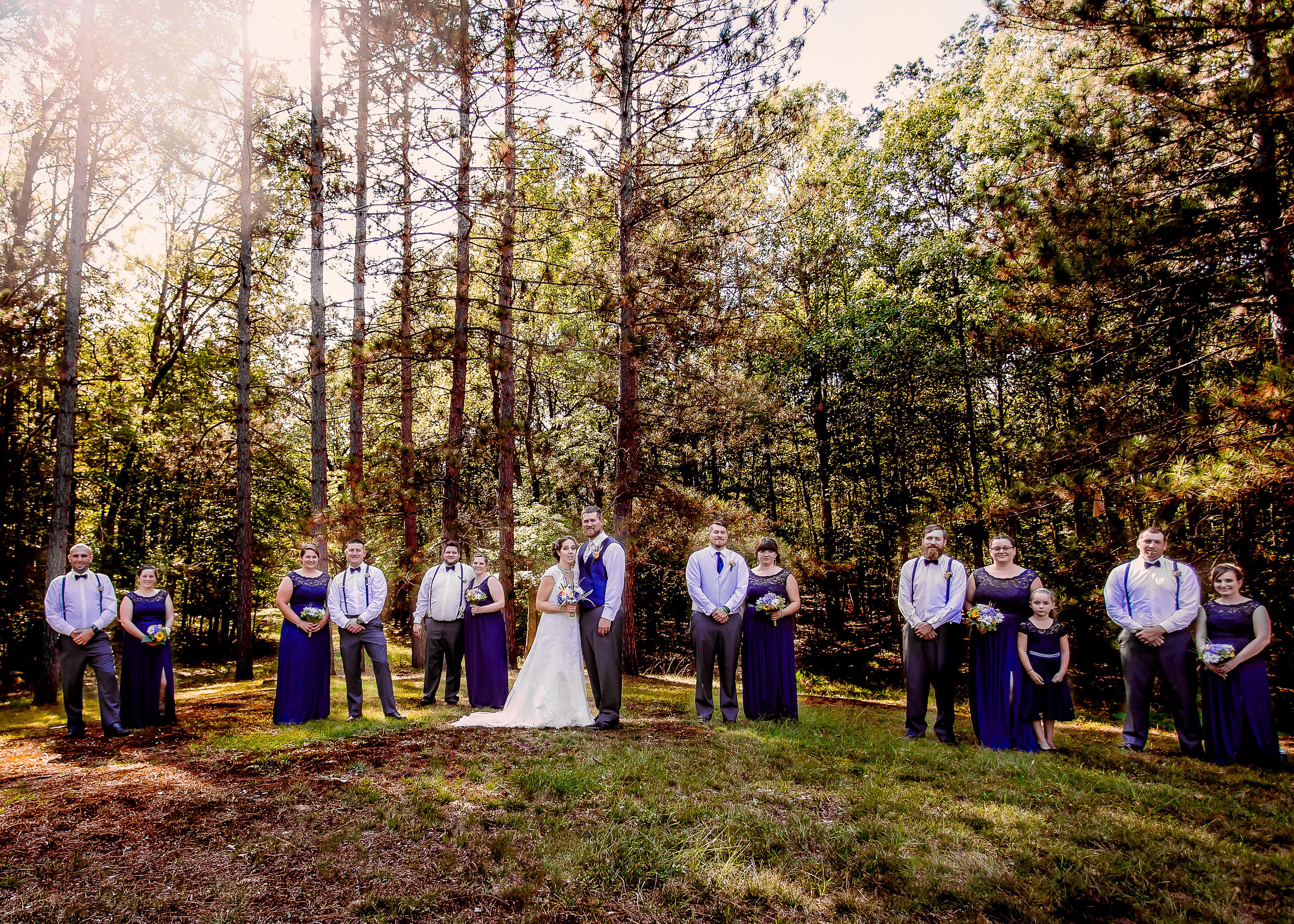 Wedding Blue Bell