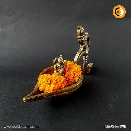 Deepalika, Peacock handle lakshmi brass diya lamp