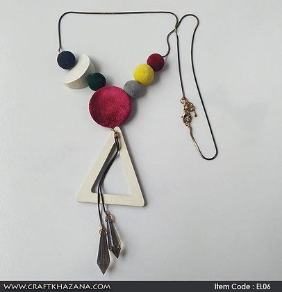 Lolito, velvet beads fashion necklace