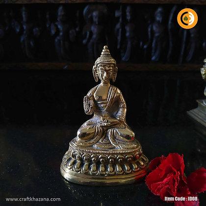 Buddha Brass Idol