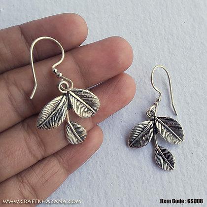 Sadra, leaves shaped dangler earring