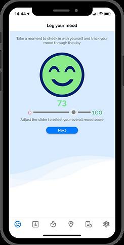 OK Positive app - log your mood