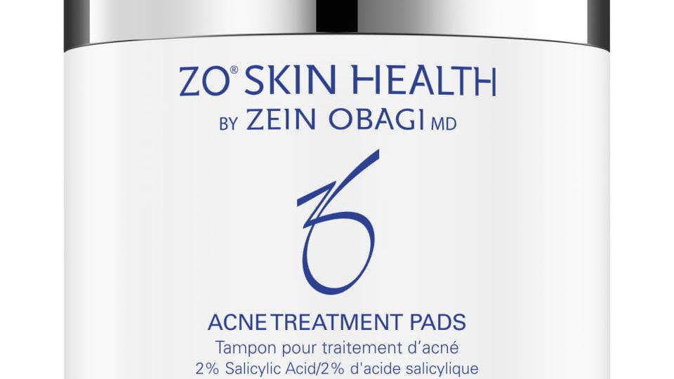 Cotons pour traitement de l'acné