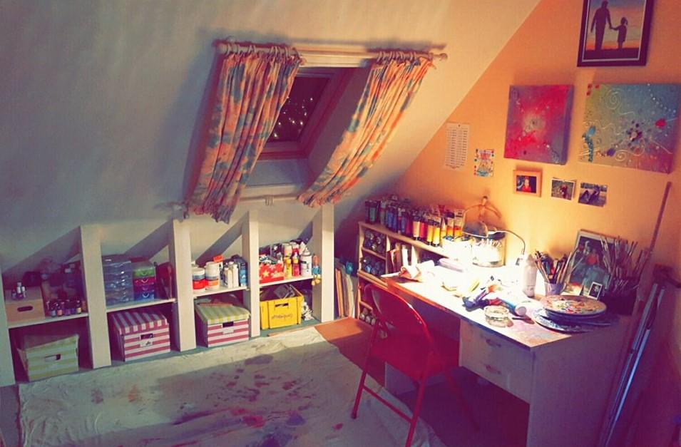 Mon atelier :-)