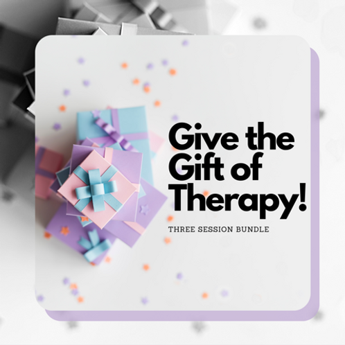Give the Gift of Therapy