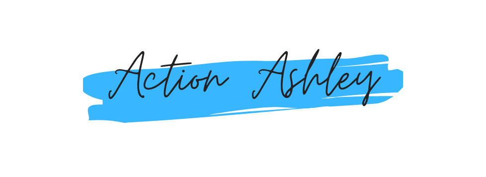 Logo for Website Banner - Action Ashley.