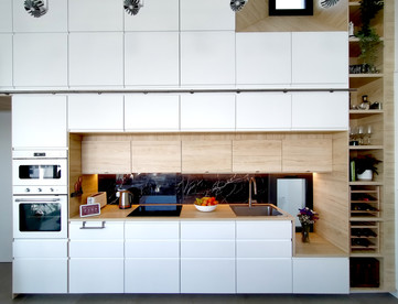 Kitchen work area
