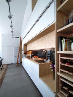 Kitchen with Storage units