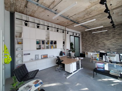 Office with Industrical Aesthetic