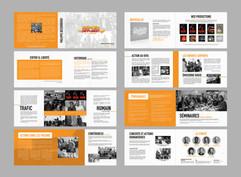 Brochure pour l'association Espoir Diffusion