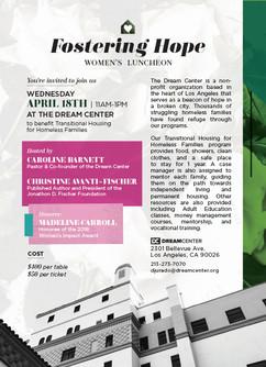 Womens Luncheon Invitation