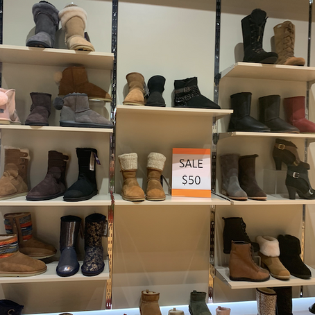 Crazy Boots Sale At Roozee Australia In NYC