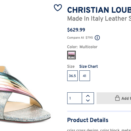 Christian Louboutin And Love The Label On Sale At Marshalls