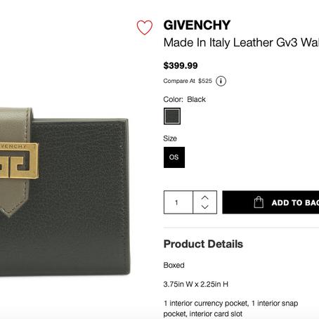 Givenchy Handbags, Escada Pants, Alexis Bittar Rings And Much More At TJMaxx And Marshalls