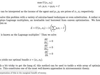 Economics: A Study of Human Behavior through Mathematics