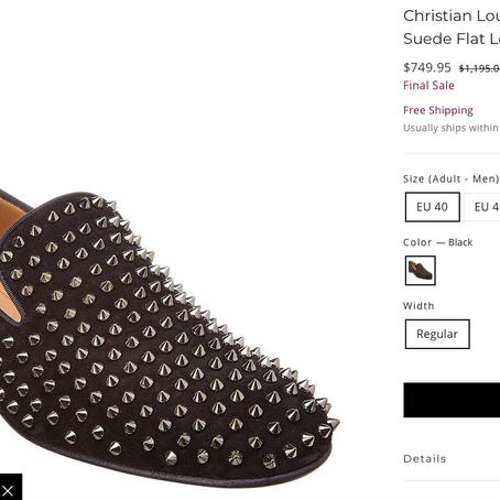 Christian Louboutin On Sale At Premium Outlets Online Shop