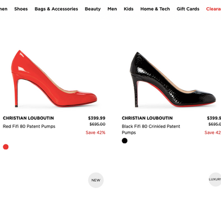 Huge Christian Louboutin Sale From Century 21