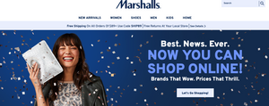 Marshalls online store
