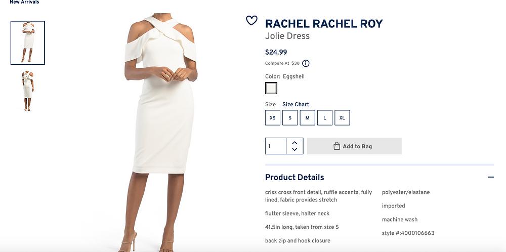 RACHEL RACHEL ROY Jolie Dress  $24.99