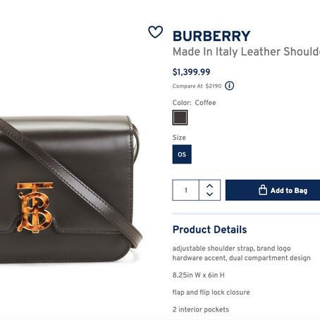 Burberry Handbags On Sale At Marshalls