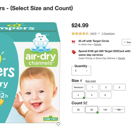 Best Online Deals On Pampers Diapers In February 2021
