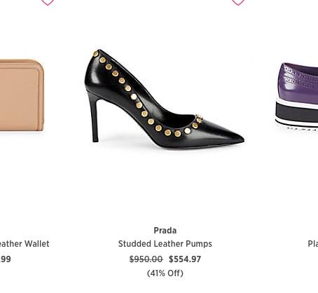 Prada on Sale at SaksOff5th online store