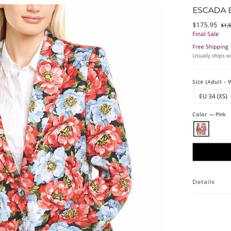 Escada Up To 89% Off At Premium Outlets