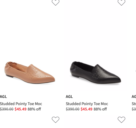 Fantastic Deals On AGL Shoes Up To 88% OFF