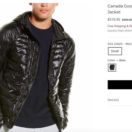 Canada Goose On Sale At Premium Outlets Online Store