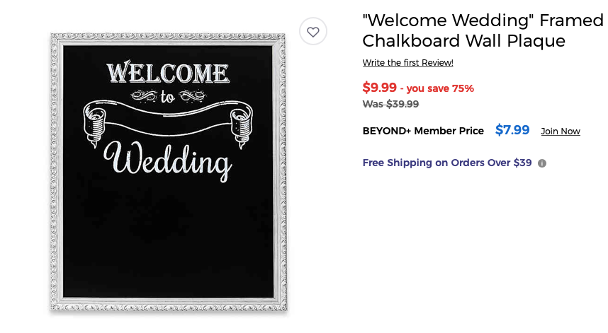 Welcome wedding sign on sale