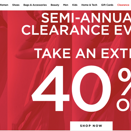 Century 21 Semi-Annual Clearance of up to 95% OFF