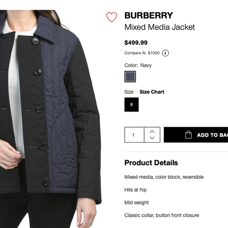 Burberry Jacket, Gucci Swimsuit And Much More On Sale At TJMaxx And Marshalls July 2, 2021