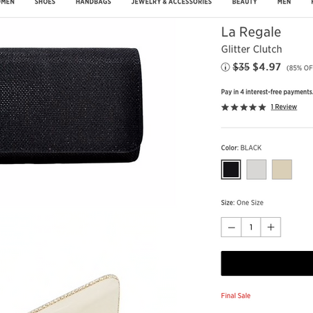 5$ Clutches + Miu Miu, Proenza Schouler, Staud And Bruno Magli Handbags On Sale