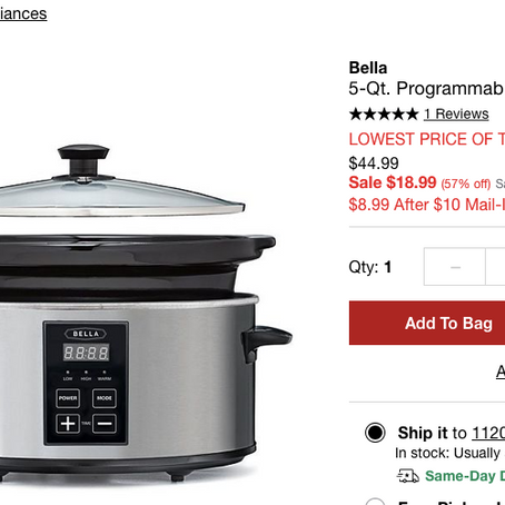 Huge Kitchen SALE At Macys
