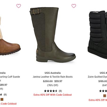 Crazy Deal On Ugg Boots At SaksOff5th