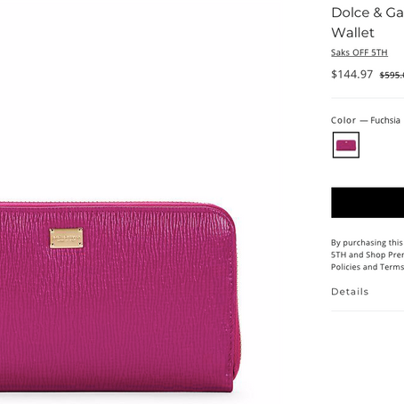 150$ Dolce And Gabbana Wallets And So Much More At Premium Outlets