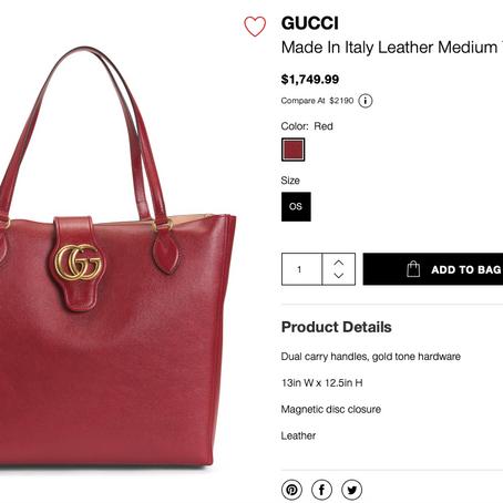 YSL And Gucci Bags New Shipment At TJMaxx