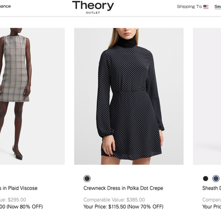 Fantastic Deals On Theory!