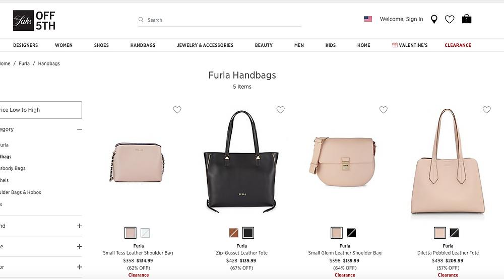 Furla Handbags On Sale