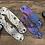 Thumbnail: CIRCUIT BOARD engraved Titanium Scales for Spyderco Paramilitary 3 Knife Para 3